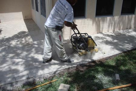 Compacting Pavers