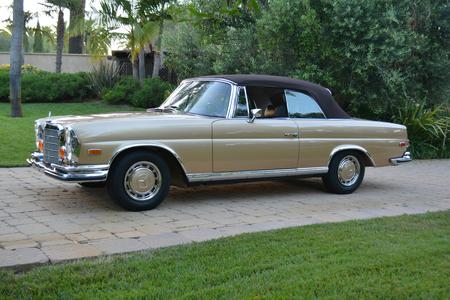 1971 Mercedes-Benz 280SE 3.5 Cabriolet for sale at Motor Car Company in San Diego, California