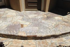 flagstone hardscape cleaning sealing