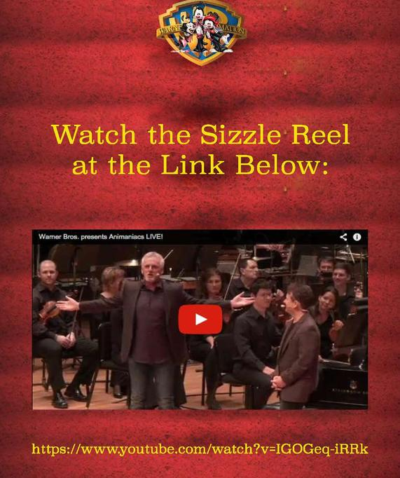 Animations Live! Sizzle Reel with Symphony