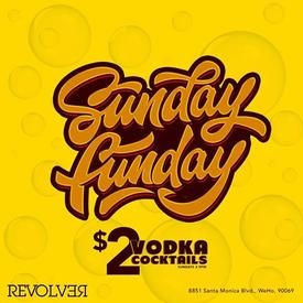 West Hollywood, CA - Sunday Funday at REVOLVER