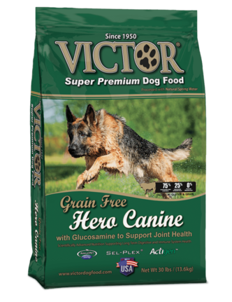 Victor Hero Canine with Glucosamine to Support Joint Health