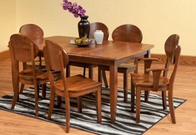 Remarkable Amish Made Dining Tables And Chairs Chelsea Washtenaw Home Interior And Landscaping Oversignezvosmurscom