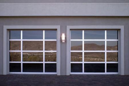 Glass garage doors phoenix az modern glass garage doors