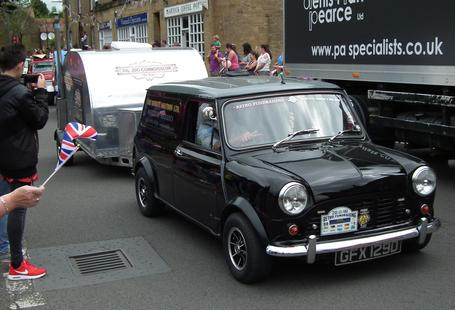 HMS Mobility classic mini van and the OJC teardrop