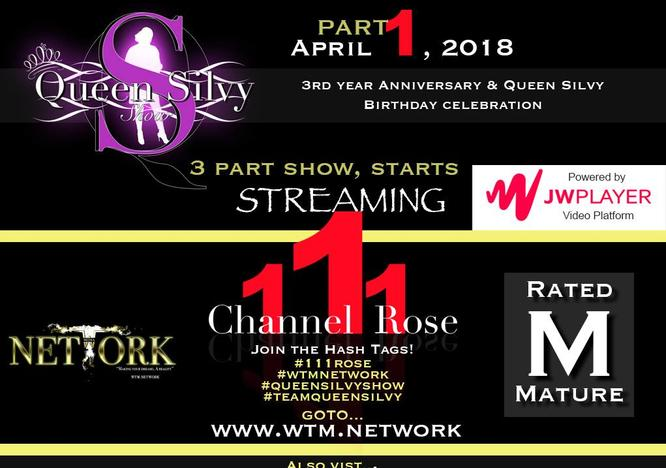 The Queen Silvy Show Anniversary Show