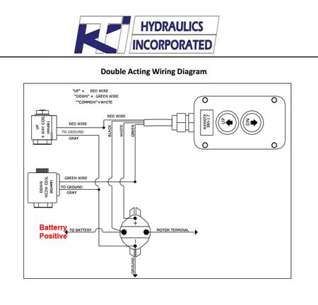 Double Acting Wiring Diagram