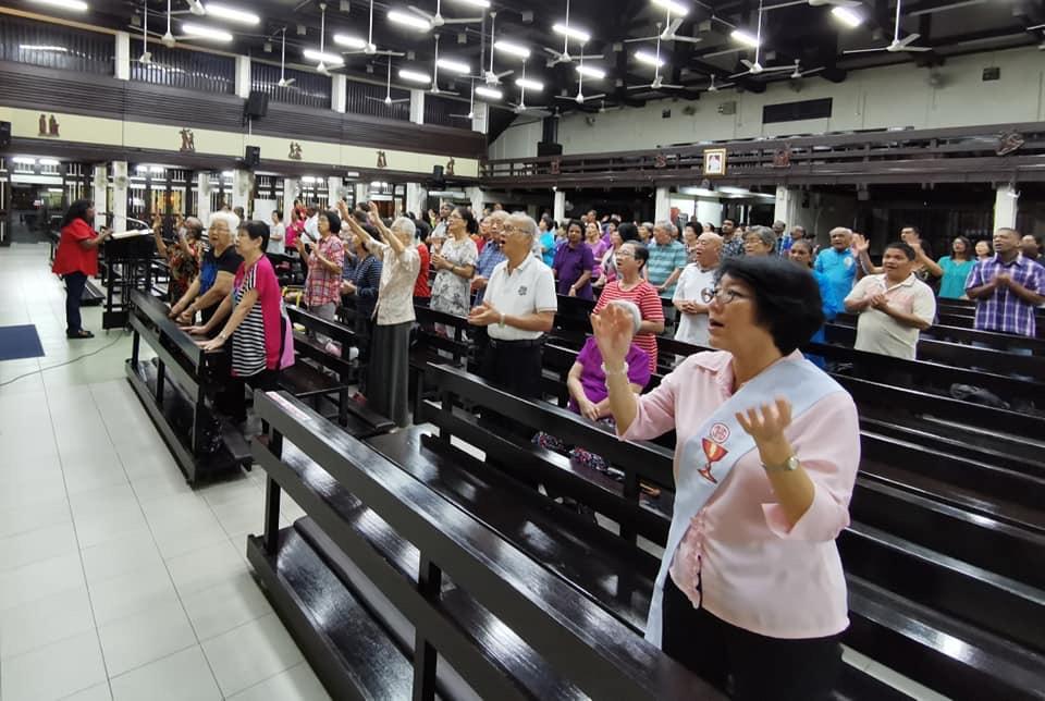 Charismatic Mass & Healing 28 Aug 2019