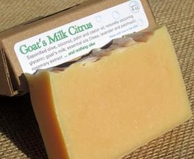 Goat's Milk Citrus Soap