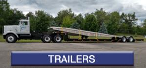 Flatbed Trailers manufactured by Cadillac Fabrication (CadFab)