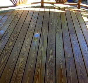 Deck Pressure Washing