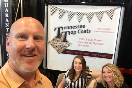 Tennessee Top Coats at the 2016 International Car Show