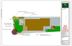 landscape design drawing 1