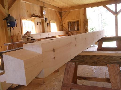 Interior Wood Walls With Chinking