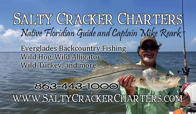 Hunt and Fish with Salty Cracker Charters Captain Mike