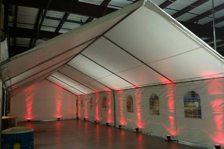TENT UP-LIGHTING