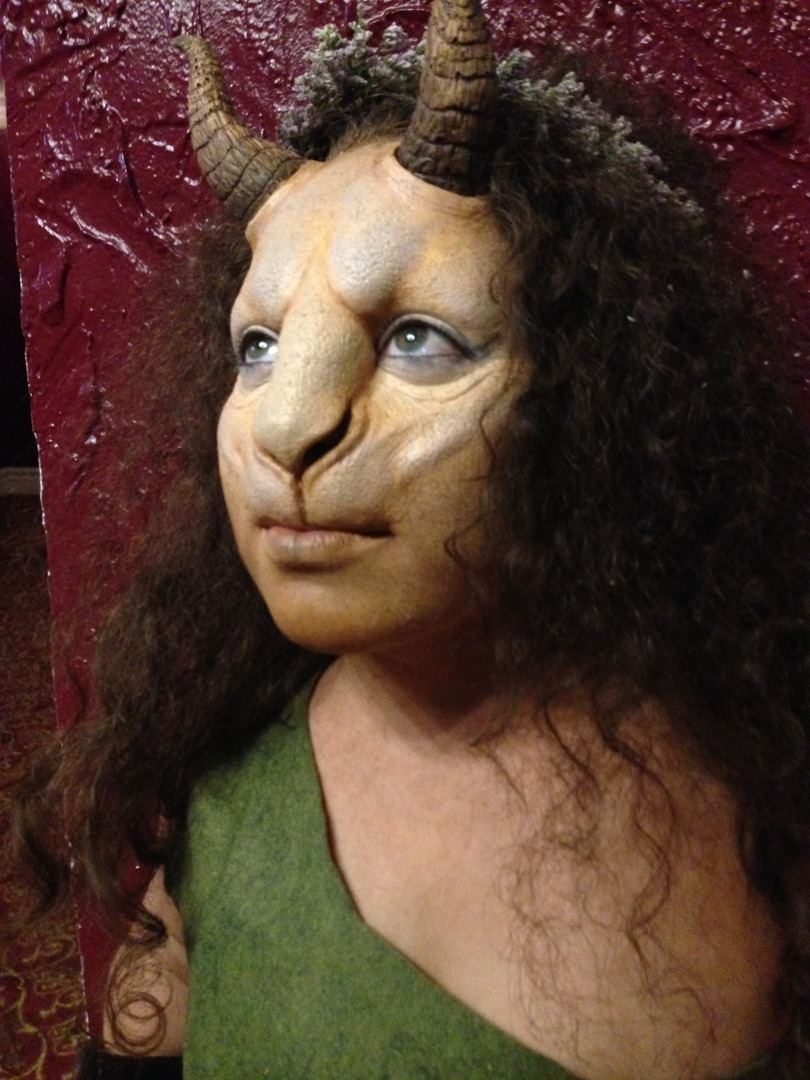 Male Faun Makeup