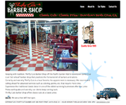 Barber Salon Web Design