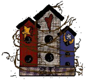 Sherry's Country Craft Birdhouse