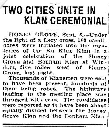 an introduction to the origins and the history of the issue of ku klux klan Ku klux klan parade, september 13, 1926 that the klan made headlines the central issue, then, was not necessarily whether or not to cover the klan felix harcourt is visiting assistant professor of history at austin college.