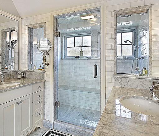 single swing door thick glass shower doors