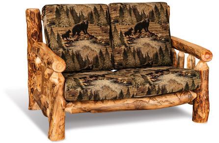 log living room furniture. Amish Made Log Living Room Furniture