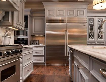 Kitchen that had refrigerator repair from us in Waterloo, ON
