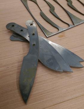 Knife Blanks for DIY Knife Making