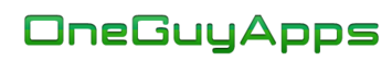 OneGuyApps Logo Text