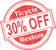 30% Off Tricycle