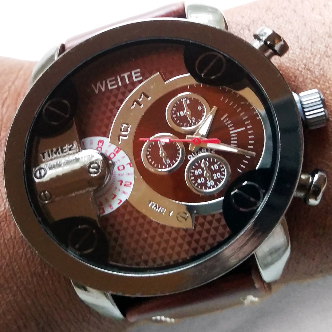 watch en lighter brown watches men elegant weite