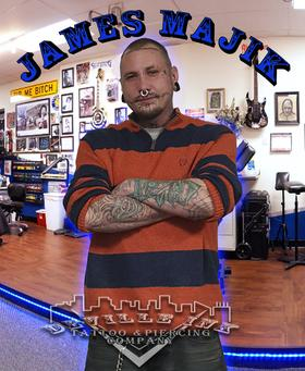 DeVille Ink Baltimore Maryland James Majik