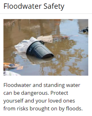 CDC Flood Water Safety