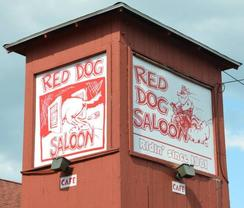 The Red Dog Saloon