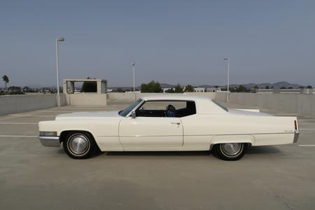 1970 Cadillac Coupe DeVille for sale at Motor Car Company in San Diego California