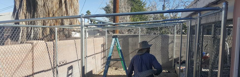 Chain Link Fence Las Vegas