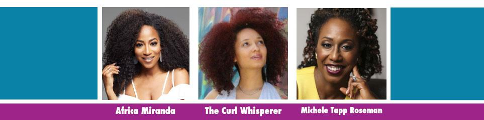 Africa Miranda, The Curl Whisperer, Jaded Tresses, Michele Tapp Roseman