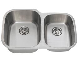Solaris L305 Stainless Steel Sink Double Bowl