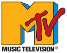 yellow, red, and blue MTV logo