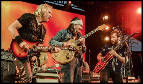 Joe Walsh, Glenn Schwartz and Dan Auerbach