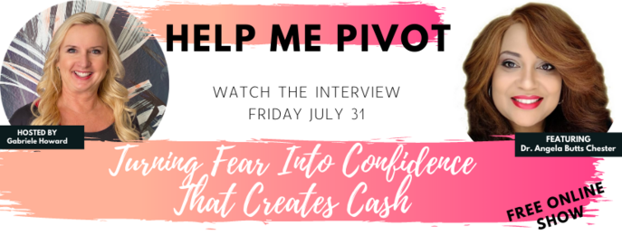 Help Me Pivot - Interview with Dr. Angela Butts Chester