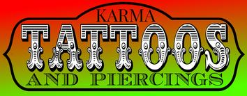 Karma Tattoos and Piercings Face Book page