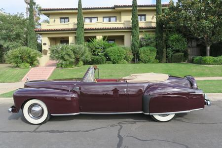 1942 Lincoln Continental Cabriolet V-12 for sale at Motor Car Company in San Diego
