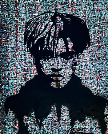 xxxtentacion painting, Abstract painting, hooligan arts, artist chris smith, best abstract, xxxtentacion art, alfa kat, xxxtentacion, kaitlyn alfaro