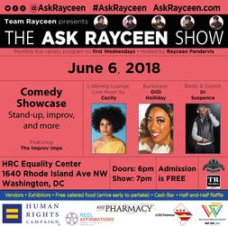 Ask Rayceen Show ~ Comedy Hour