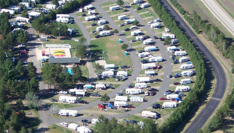 Rv Dealers In Wisconsin >> Rivers Edge Campground in Stevens Point, Wi