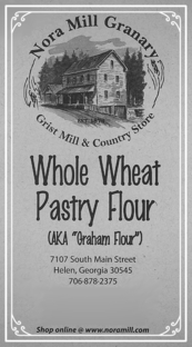 Nora Mill Whole Wheat Gram Flour Pastry Flour Recipe