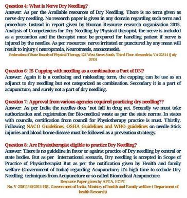 Certified Dry Needling Therapist