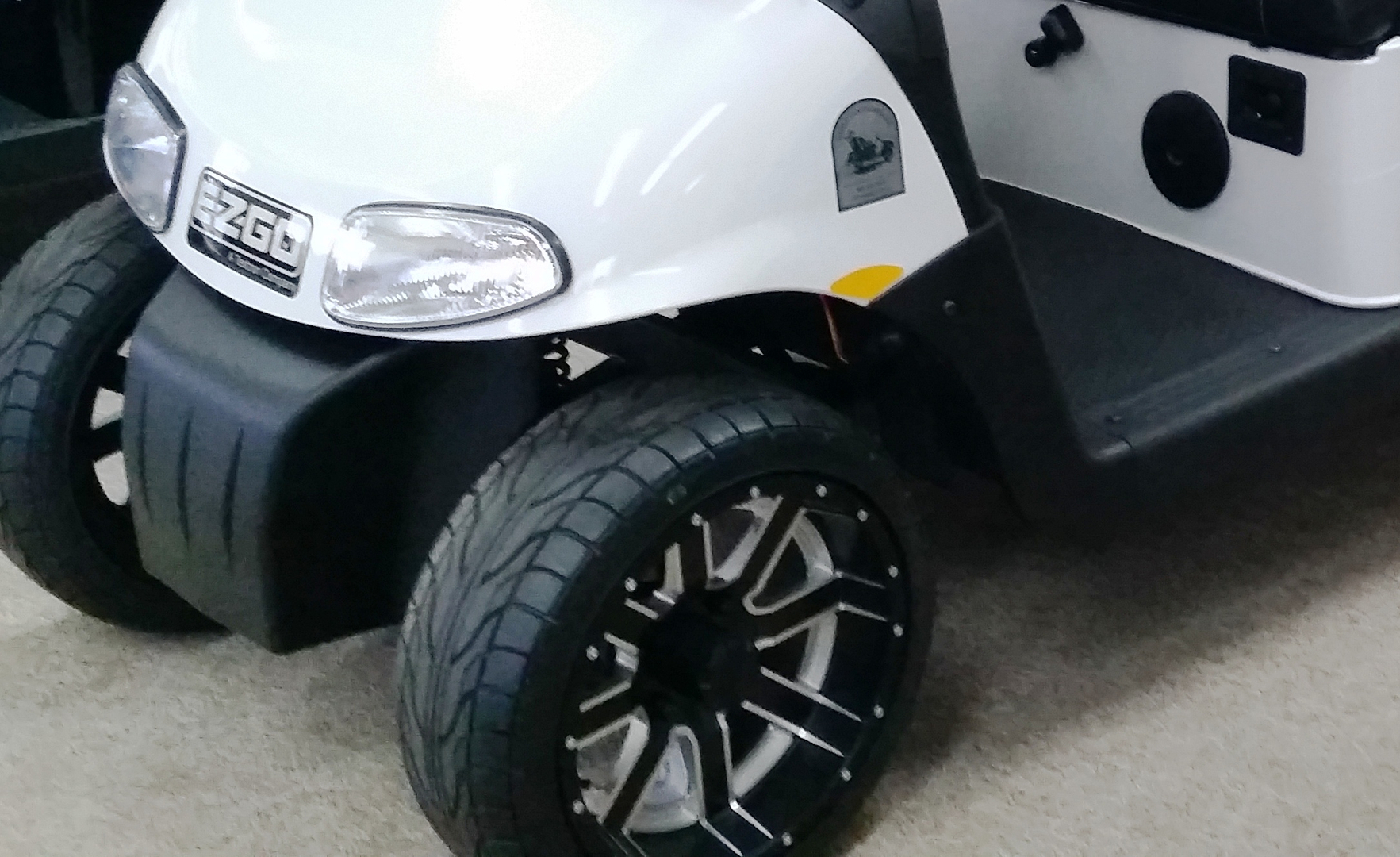 Accessories & Parts on car rims, golf carts lifted with exhaust, golf carts that are pink, golf carts with big wheels,