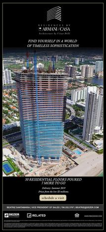Sunny Isles Real Estate; Armani Casa; New Construction; Luxury Real Estate